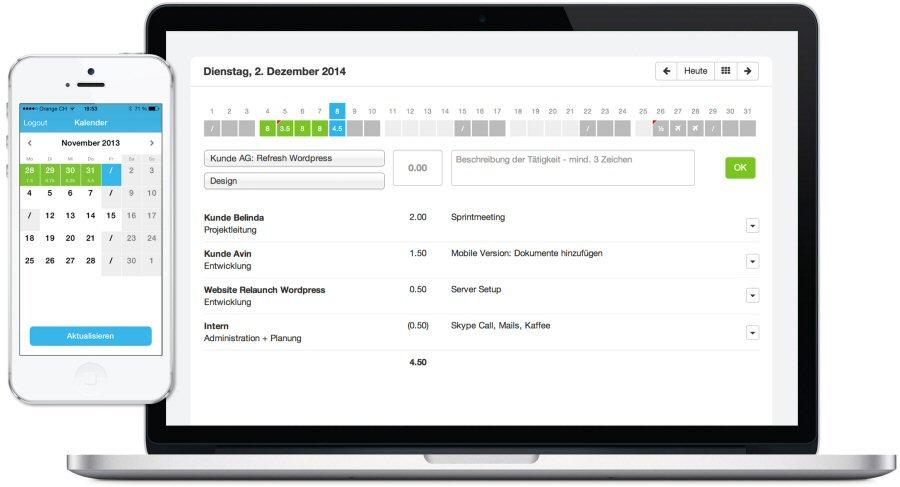 MOCO Cloud-Software für Agenturen und Dienstleister 2