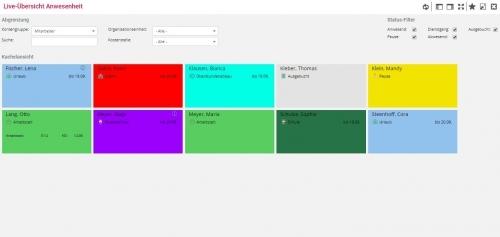 1. Produktbild c2time - mobile Zeiterfassungslösung