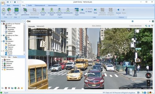 Streetview in pixafe Family