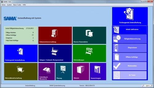 SAMA - Instandhaltungssoftware