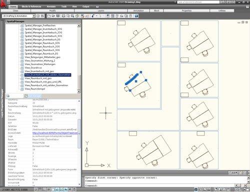 2. Produktbild Spatial Manager für AutoCAD