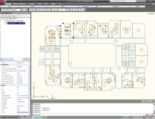 3. Produktbild Spatial Manager für AutoCAD