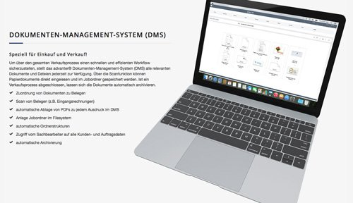 4. Produktbild advanter® CRM, ERP, DMS - flexibles System für Mac, iOS und Windows