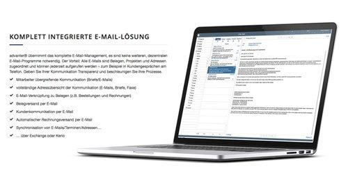 5. Produktbild advanter® CRM, ERP, DMS - flexibles System für Mac, iOS und Windows