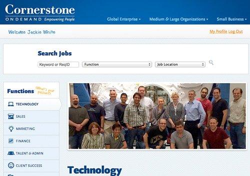 4. Produktbild Cornerstone Recruiting