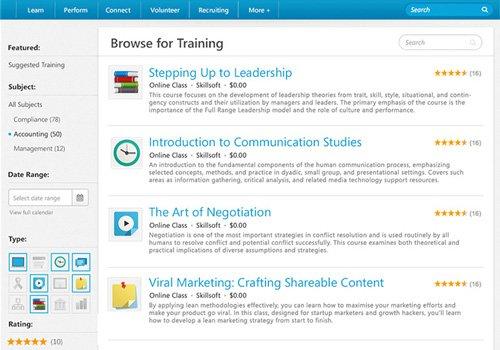 1. Produktbild Cornerstone Learning for Extended Enterprise