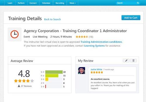 4. Produktbild Cornerstone Learning for Extended Enterprise