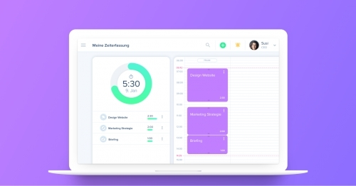 awork Screen Timetracking