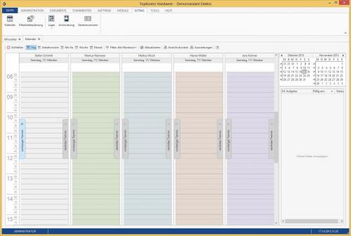 Bild von TopKontor Handwerk: Kalender