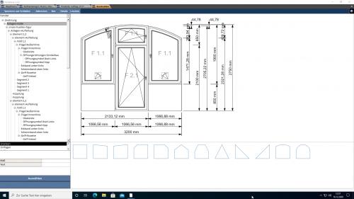Konstruktion Fensteranlagen im Sonderbau