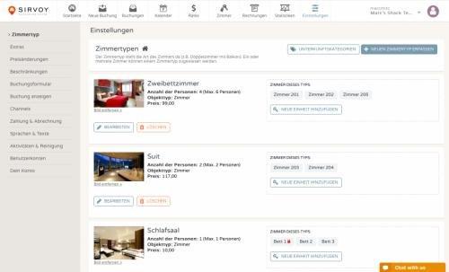 3. Produktbild Sirvoy - Buchungs-, Reservierungs- und Verwaltungssoftware für Hotels