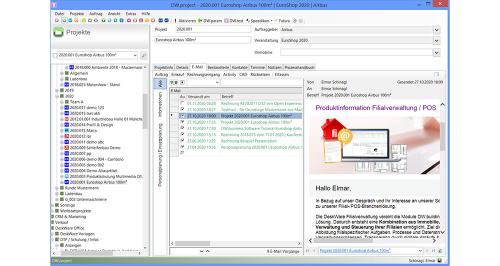 DW.project - E-Mails