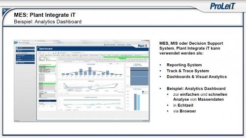 MES - Plant Integrate iT