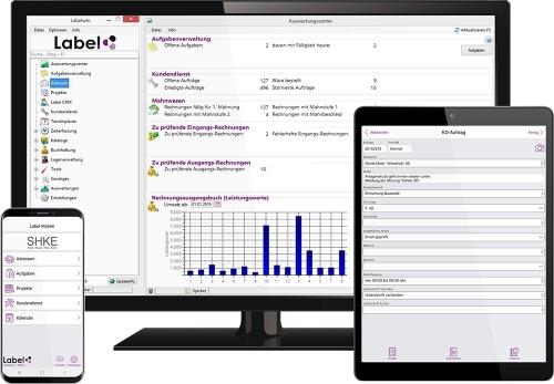 Labelwin und Label Mobile: für effizientes Arbeiten im Büro und unterwegs