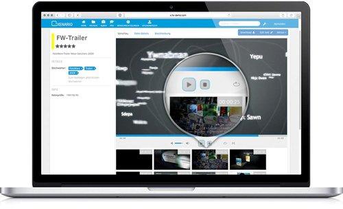 Einfach und übersichtlich: Videos in FotoWeb