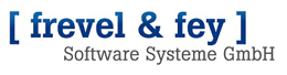 Firmenlogo [ frevel & fey ] - Software Systeme GmbH München