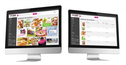 Screenshot: Asset Portal für externe Nutzer