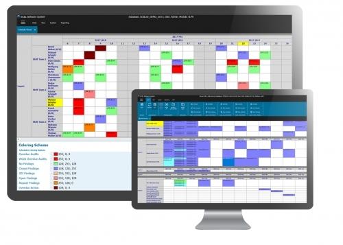Planen Sie Ihre Audits komplett automatisiert oder auch manuell (inkl. Kalendereinladungen)