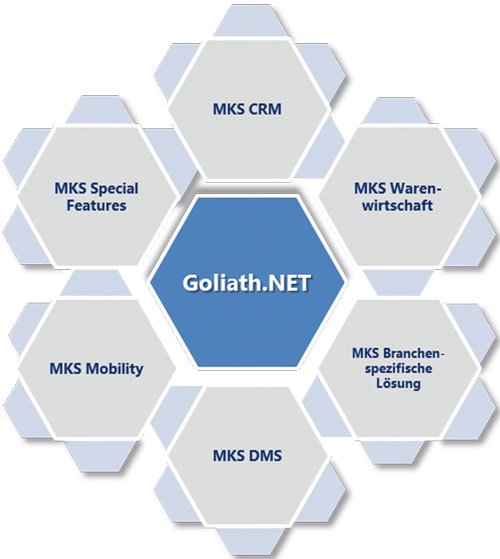 2. Produktbild MKS Goliath.NET - Business Edition