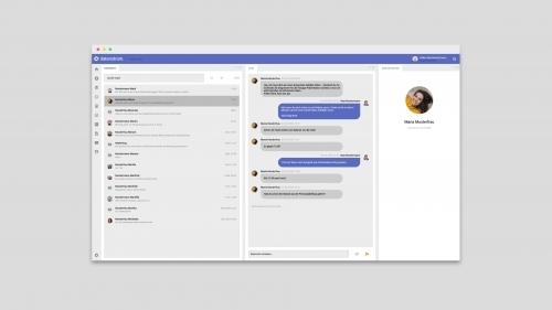 datenstrom Messenger im Web-Client