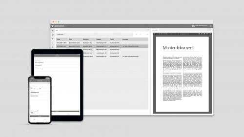 datenstrom Dateiablage für Web und App (iOS & Android)