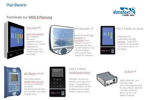 3. Produktbild Datafox MDE Software