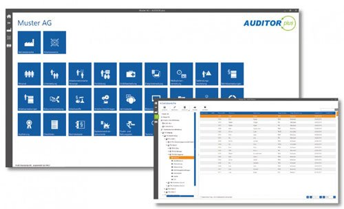Screenshots AUDITOR plus