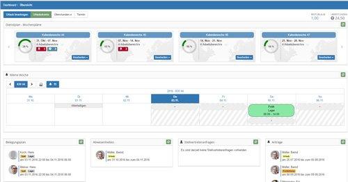 1. Produktbild Timeos - Dienstplan