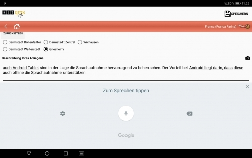 BITqms2go_Formular_Android_Sprachaufnahme