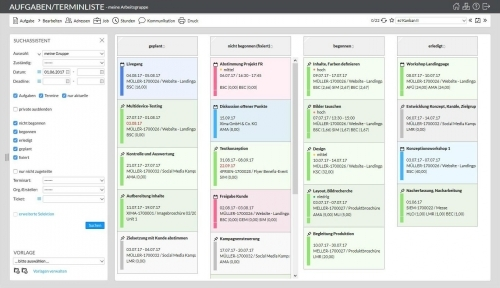 13. Produktbild easyJOB Agentursoftware
