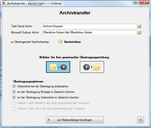 2. Produktbild Migrationskit für Tobit David & Outlook 5 User Startversion