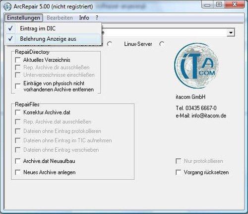 2. Produktbild Arcrepair Archivereparatursoftware für Tobit David