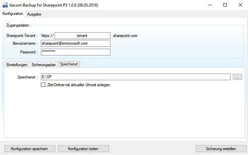 3. Produktbild itacom Backup für Sharepoint Online