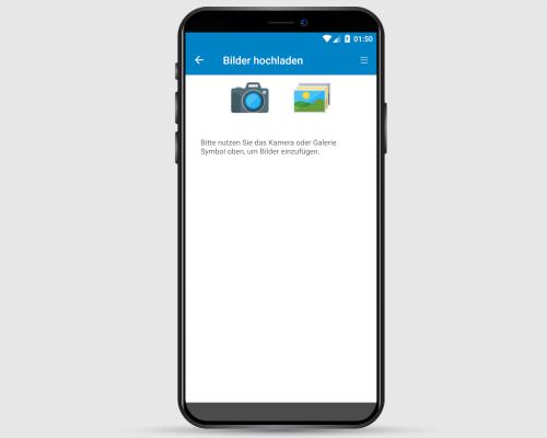 Project-Center Mobile Bilddokumentation