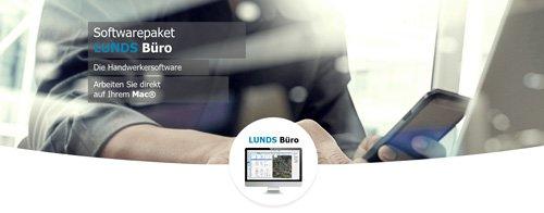 1. Produktbild LUNDS Büro - Die individuelle Handwerkersoftware für den Mac