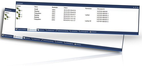 1. Produktbild speedy/PDM - Dokumentenmanagement