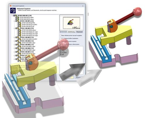 3. Produktbild speedy/PDM - Dokumentenmanagement