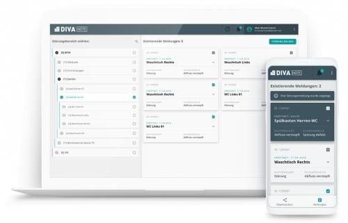 DIVA® NOTE - Digitale Störmeldungen in Echtzeit