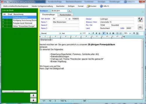 8. Produktbild Abrechnungs- und Kalkulationsprogramm