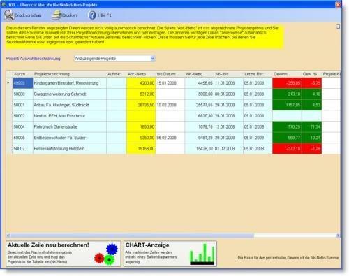 12. Produktbild Abrechnungs- und Kalkulationsprogramm