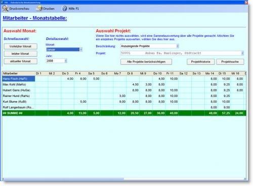 13. Produktbild Abrechnungs- und Kalkulationsprogramm