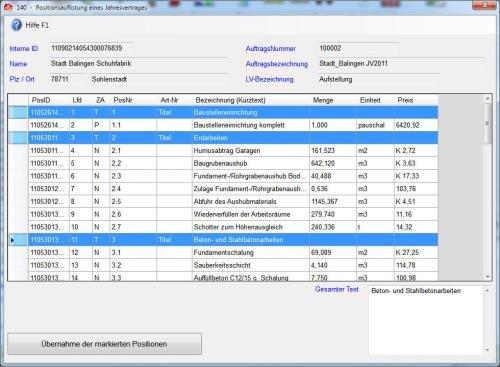 16. Produktbild Abrechnungs- und Kalkulationsprogramm