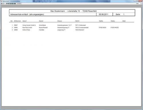 3. Produktbild Abrechnungs- und Kalkulationsprogramm