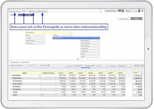 3. Produktbild Seneca -  Controlling Software