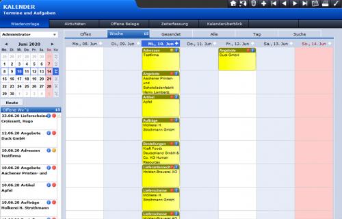 Kalenderansicht-Wiedervorlagen