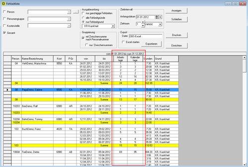 4. Produktbild obserwer.PZE (Personalzeiterfassung)