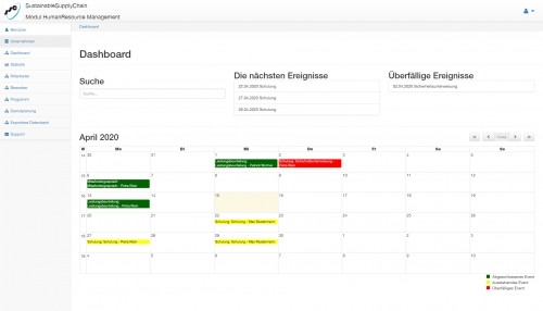 1. Produktbild HumanResourceManagement (SSC) Personalmanagementsoftware