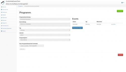 5. Produktbild HumanResourceManagement (SSC) Personalmanagementsoftware