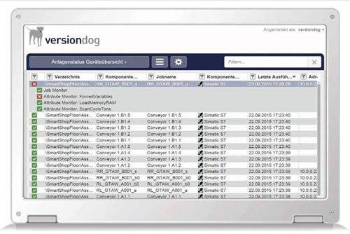 3. Produktbild versiondog -  automatisiertes Datenmanagementsystem