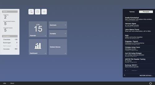 4. Produktbild Marva - Seminarverwaltungssoftware